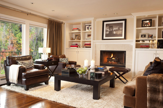 Finishing a Family Room With Area Rugs